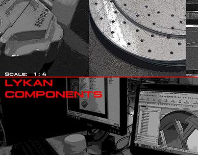 Alias, 1:4 Replica - Lykan Hypersport Components