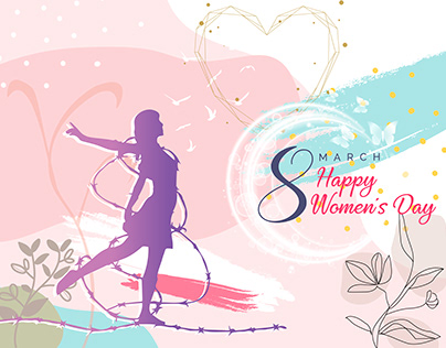 International women's day template