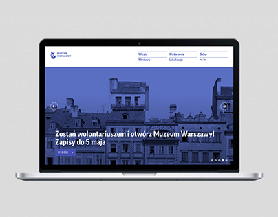 Museum of Warsaw website