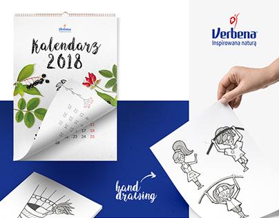 Verbena - 2018 Calendar