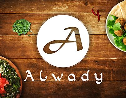 Restaurante ALWADY -  Campanha Revista e Mídia