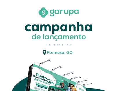 Impressos - Lançamento Garupa