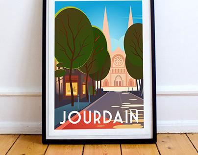 Jourdain - Paris 20 ème