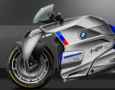 BMW HP E-boxer concept.