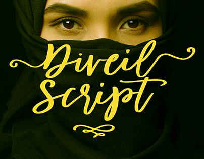 Diveil Script font made by #fontself