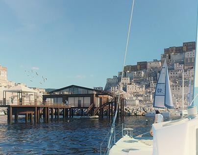 Lake house-2 3D-Visualization&Design