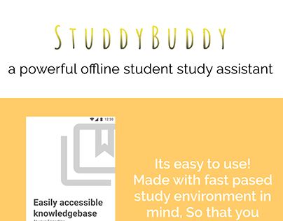 STUDYBUDDY Student learning app