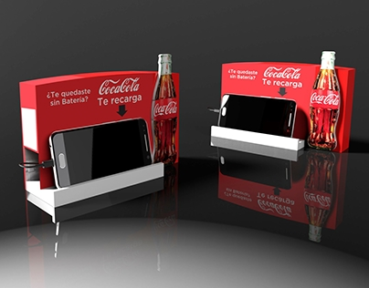 Public Charger for Coca-Cola