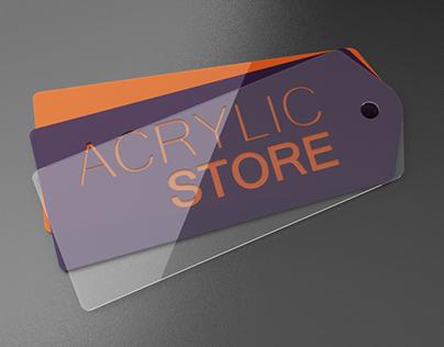 Projeto Gráfico de Ecommerce / AcrylicStore