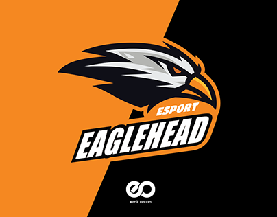 Eagle Head Mascot Esport Logo Design