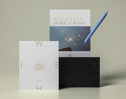 Wishing Fountain - Wedding Production Branding