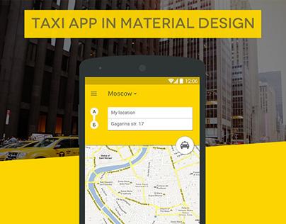 Taxi App MD