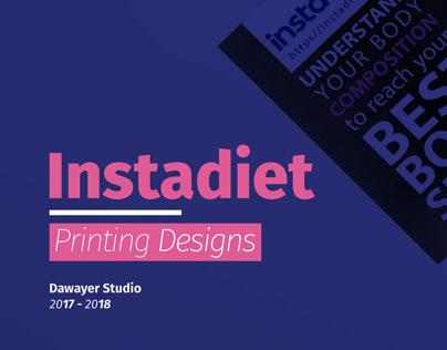 Instadiet Printing Designs