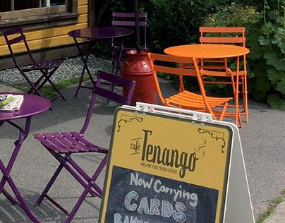 Cafe Tenango - Visual Identity Design