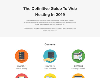 The Definitive Guide To Web Hosting 2019 [Infographic]