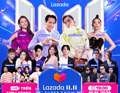 LAZADA SUPERSHOW 11.11   DEMO STAGES