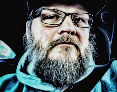 Self portrait. New creative process.