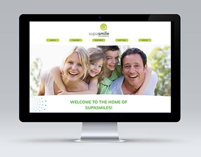 Supasmile Orthodontics Website Design