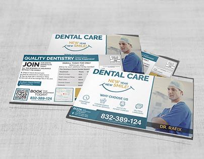 Dental Postcard Template & Direct Mail EDDM