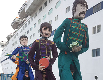 VIP Puppet's Sgt Pepper's Be Talls Puppets Promo Film