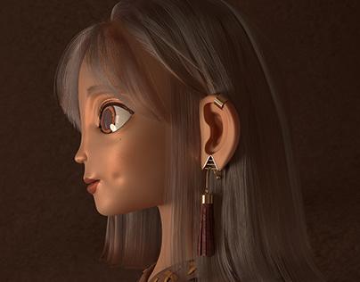 3d Character - Rita suede, creating the future /EllBill