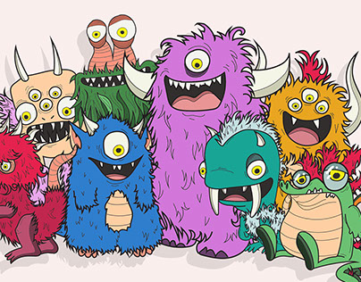 Hairy, Horny Monsters