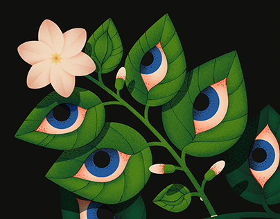 Blooming eyes
