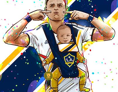 Chicharito Hernandez al Galaxy