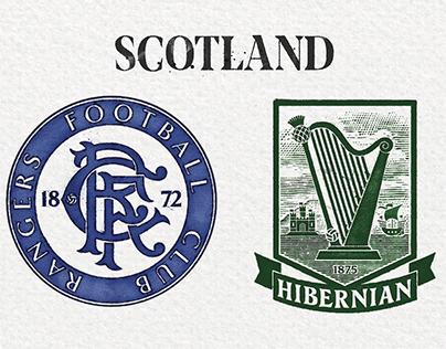 Reimagied Scottish Premier legue badges