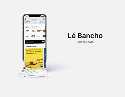 Lé Bancho - Food Ordering App