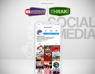 Altay Kuruyemiş Social Media Management