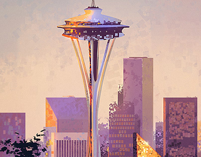 Seattle Space Needle +Subscriber Downloads