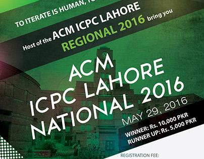 ACM ICPC Lahore National 2016