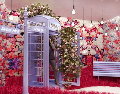 The Dubai Mall The Floral Room (UAE 2020 )