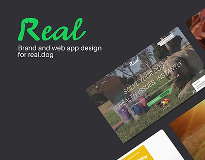 Real.dog Web app & Brand
