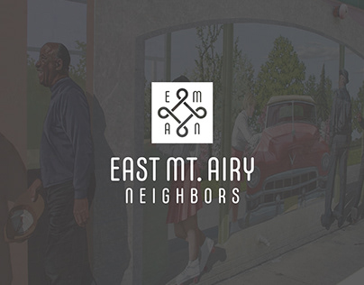 East Mt. Airy Neighbors Rebrand