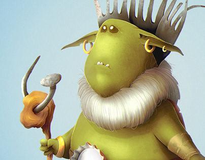 Gremlins. Character design.