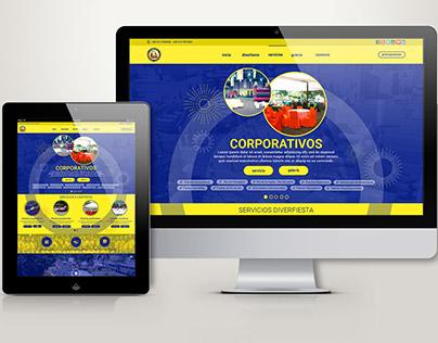 Diverfiesta - Corporative website