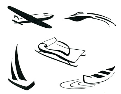 Adventure Icon Illustrations