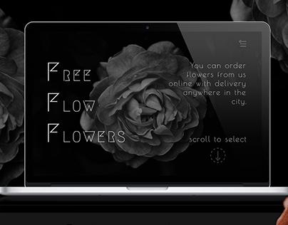 Цветочный магазин web-design