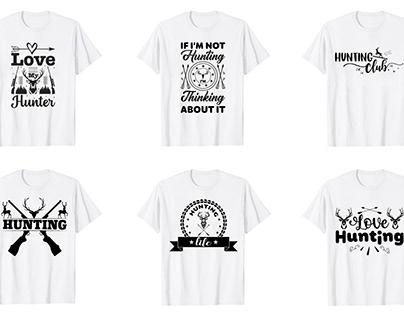 HUNTING SVG T Shirt Design VOL.01