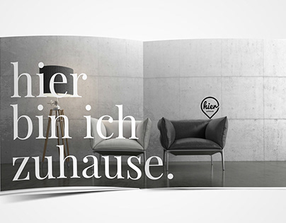 HIER ZUHAUSE Corporate Design