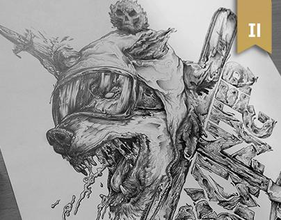 Pencil & Ink  ✐  Sketchbook I