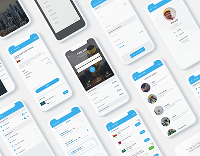 Job Listing App UI Kit