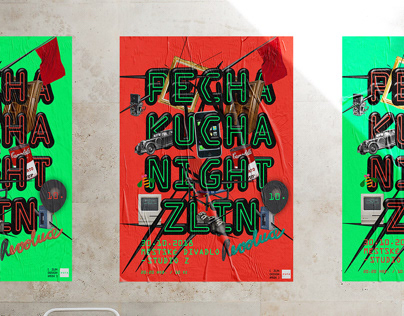 Pechakucha Night Zlin vol. 10 — Visual style