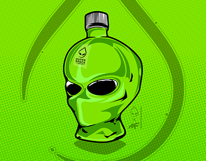 Outer Space Vodka 5,000f