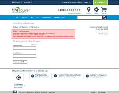 RMA (Return merchandise authorization)