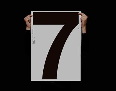 Silkscreen Helvetica®––Posters
