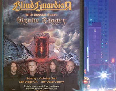 Blind Guardian with Grave Digger Event Project