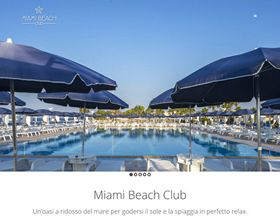 Miami Beach Club | Logo, sito web